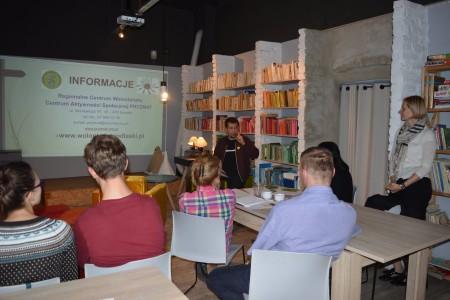 W Białymstoku odbyła się Kawiarenka Obywatelska o wolontariacie
