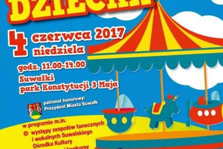 Wolontariat podczas obchodów Dnia Dziecka w Suwałkach